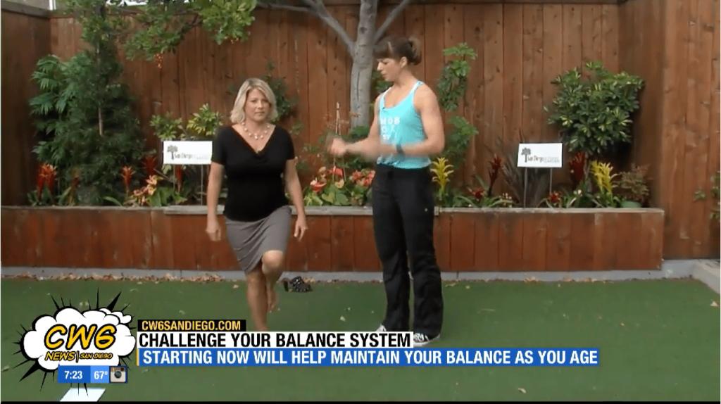 Challenge Your Balance