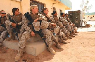 Marine women X 3